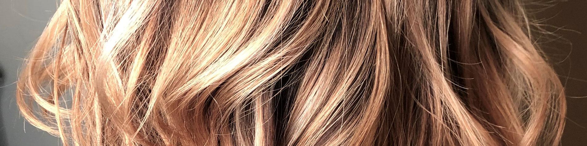 Ombre Curls Cut